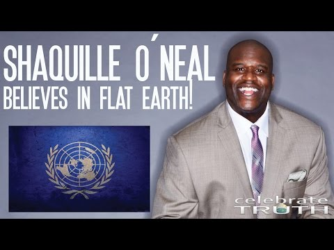 Shaquille O'Neal Believes The Earth is Flat � NBA Goes Flat Earth!