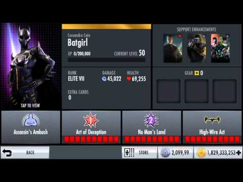 *NEW!* Cassandra Cain Batgirl Character Review   Injustice iOS