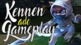 KENNEN ADC GAMEPLAY - CAMPEÃO DE MIL E UMA UTILIDADES - League of Legends - [ PT-BR ]