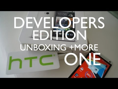 HTC One Developer Edition Unboxing with Comparisons and First Review