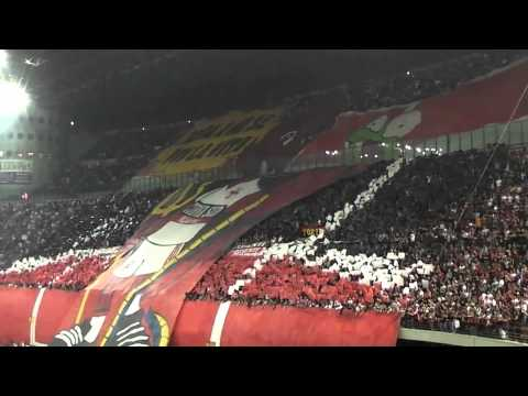 Milan derby choreo