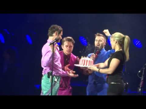 Take That - Happy Birthday Howard - 28-4-15 Glasgow HD