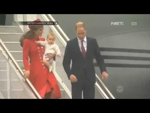 Pangeran William dan Kate Middleton kunjungi New Zealand