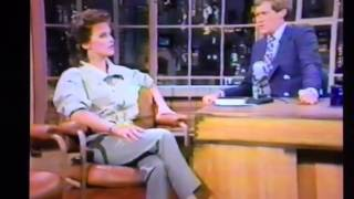 David Letterman Sheena Easton NBC 1983 1984??