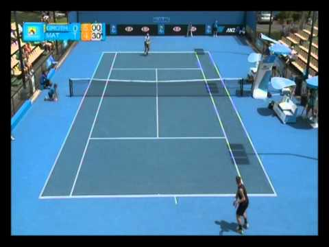Marinko Matosevic v Sam Groth highlights: Australian Open Play-off 2012