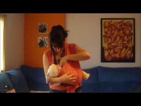 Fular Elástico con Recién Nacido: Amamantar Erguido y en Cuna
