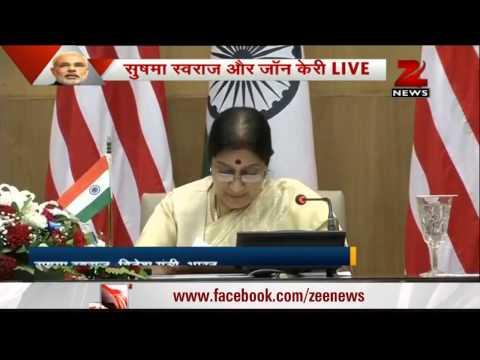 India-US ties at turning point: Sushma Swaraj