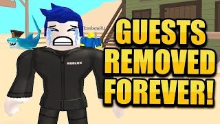 ROBLOX REMOVED GUESTS!! WILD REVOLVERS NEW UPDATE!! | JAILBREAK MONSTER TRUCK! 🔴 ROBLOX LIVE