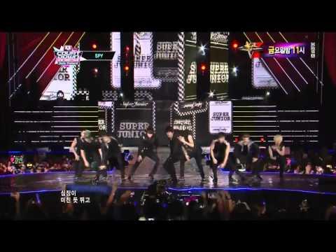 [HD] 121011 Super Junior @  M Countdown Smile Thailand