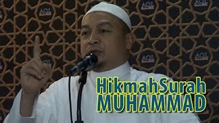 Ust. Bachtiar Nasir   HIKMAH SURAH MUHAMMAD