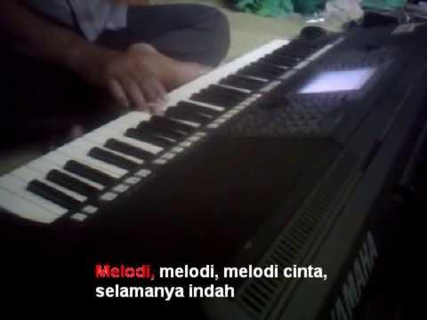 Melodi Cinta Rhoma Irama Karaoke Yamaha Psr S750 video