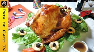 Pavo relleno al horno paso a paso / Stuffed baked turkey step by step