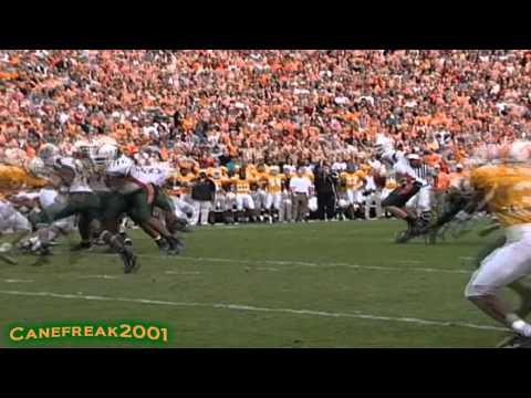 Andre Johnson Miami Hurricanes Highlights