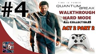 """Quantum Break Walkthrough - HARD - All Collectibles ACT 2 Part 2 """"Perfect Place To Hide Something"""""""
