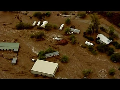Ariz. responders make rescues in flash floods