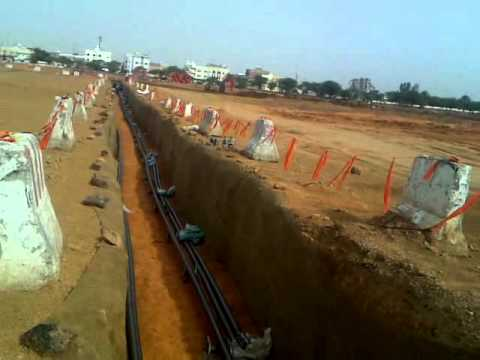 PULLING CABLE OF 132KV IN TABUK-1 SAUDI ARABIA.mp4