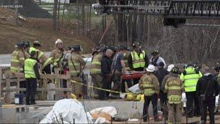 Injured worker rescued from underground chute