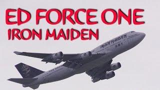 ED FORCE ONE DEPARTURE!!! IRON MAIDEN TOKYO HANEDA AIRPORT アイアンメイデン エドフォースワン 離陸