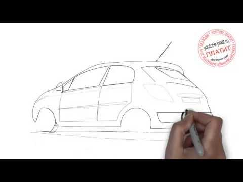 Видео как нарисовать машину времени
