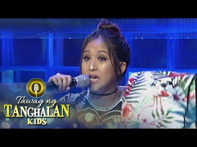 Tawag ng Tanghalan Kids: Hurado Jolina's gift to TNT contenders