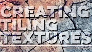 Create TILING TEXTURES for GAMES | a Photoshop & Mudbox tutorial