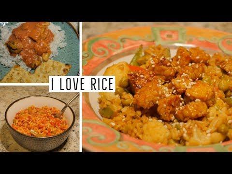 Easy Rice Dinner Recipes | Alison Henry