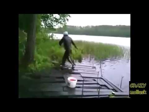 приколы на ютубе рыбак