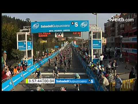 Ciclismo:Rojas gana sprint 1ª etapa
