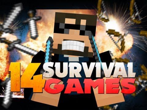 Minecraft Hunger Games 14 - TEAMING OP!!