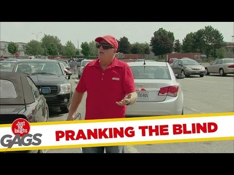 Misleading the Blind Prank