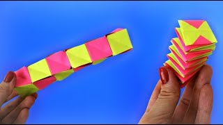 Paper toy antistress transformer | Easy paper toy for kids | Paper crafts easy