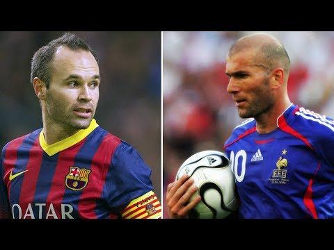 Zidane and Iniesta | Beauty of Football | Best Dribbling Skills HD