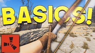 BACK TO BASICS! - Rust SOLO Survival #1