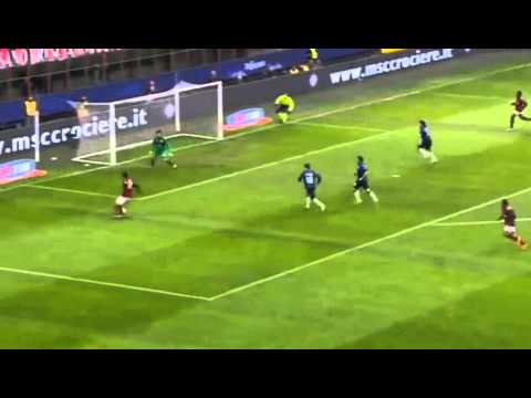 Kaka Great Goal - AC Milan vs Atalanta 3-0 (Serie A 2014) HD