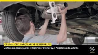 Opel ve Chevrolet Orjinal Yedek Parçaları ve Aksesuarları