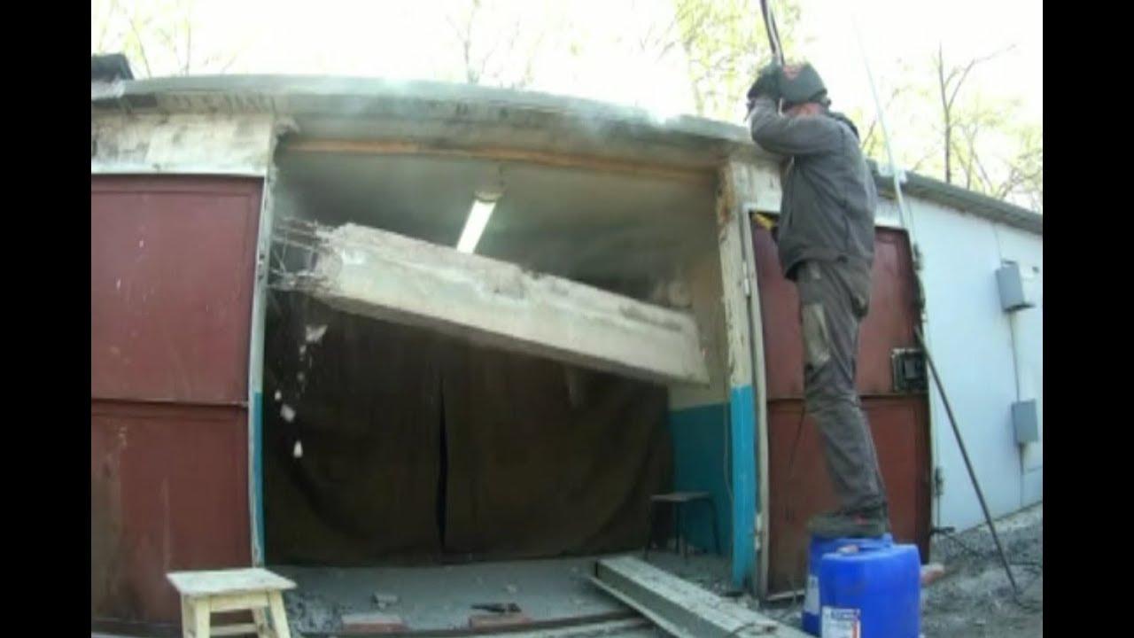 Модернизация гаража своими руками 1