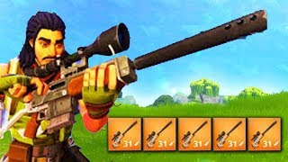 *NEW GAME MODE*  SNIPERS ONLY! (Fortnite Battle Royale)