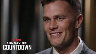 Tom Brady to Randy Moss: I'm still fueled by the love of the game | NFL Countdown
