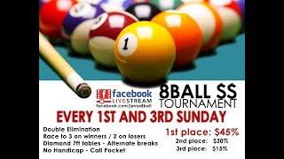 #5 *FINAL* / Daniel BUSCH vs Carson CHIU / Jerry's 8-Ball Tournament / April 2019