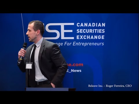 CSE Day Toronto Spring 2016: Beleave Inc. (CSE:BE)