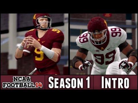 NCAA Football 14 Dynasty - The New Era Begins - Season 1 Introduction