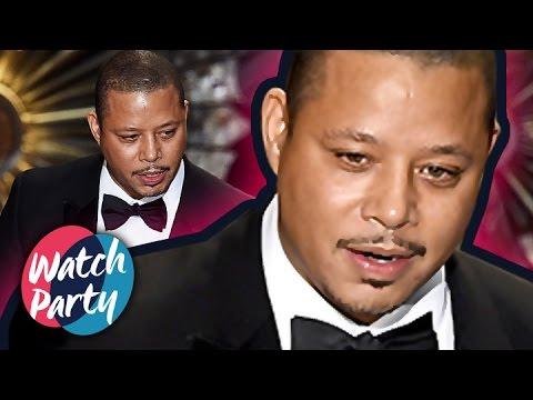 Terrence Howard's Confusing Oscar Fail -- Oscars 2015 Watch Party