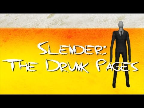 Drinking Games for Gamers - Slender: The Drunk Pages