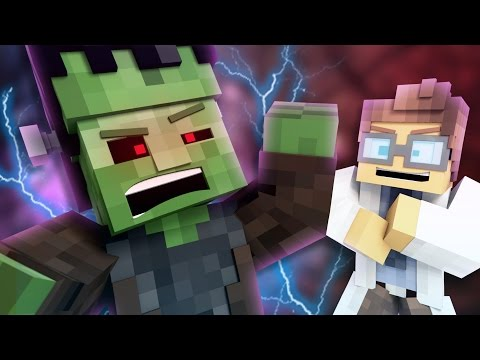 FRANKEN-ZOMBIE!!! | Halloween Special |(Minecraft Animation)