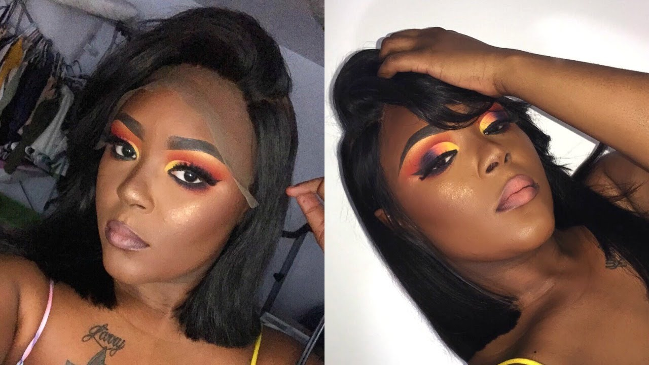 Colorful Cut Crease Ft Suva Beauty Shadows  + Ali Annabelle Hair Styling 23