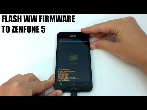 How To Flash ASUS Zenfone 5 CN/TW To WW Firmware | How To ...