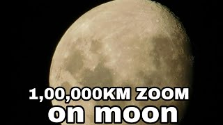 Nikon p900  83x Optical Zooming Test on Moon - World Record Zooming