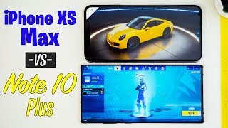 Note 10 Plus vs iPhone XS Max - Best Gaming Phone?