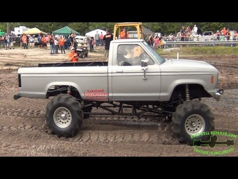 WIDE OPEN AND OUT OF CONTROL MUD RACING!!!
