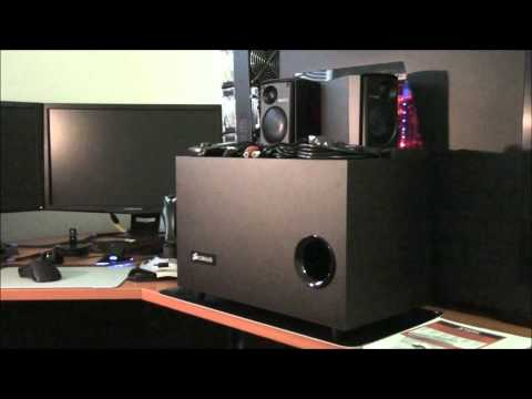 Corsair SP2500 2.1 Speakers Review